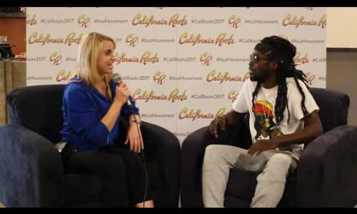 Jesse Royal interview at Cali Roots 2017