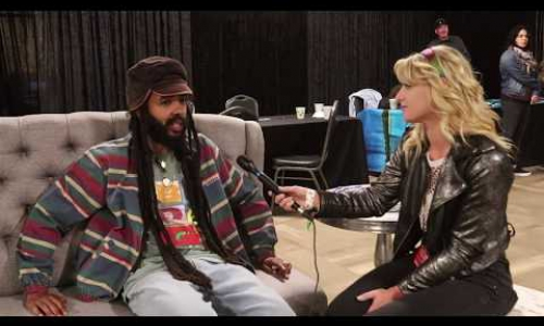 Protoje interviews at California Roots 10