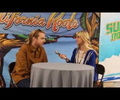A talk with Trevor Hall at Cali Roots 2018