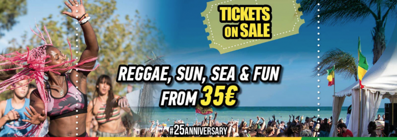 Rototom Sunsplash promotes 25th Annual on the road