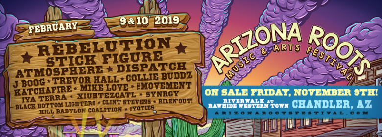 1st Arizona Roots Festival announced