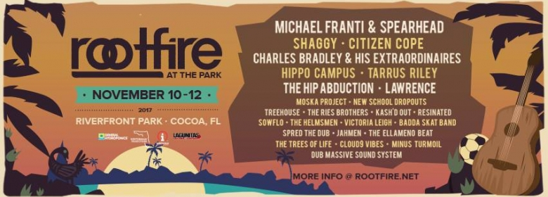 2nd Annual Rootfire at the Park announced