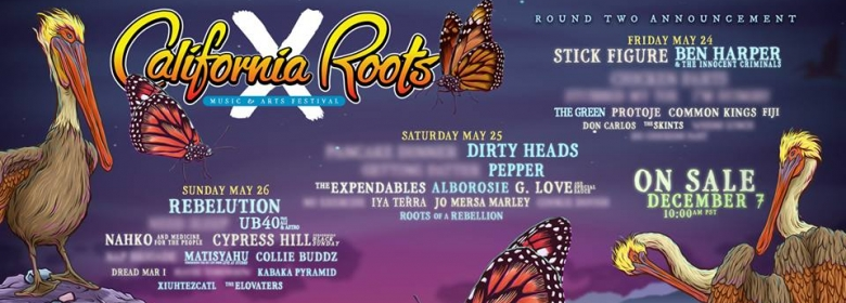 Cali Roots adds more artists to 10th Annual