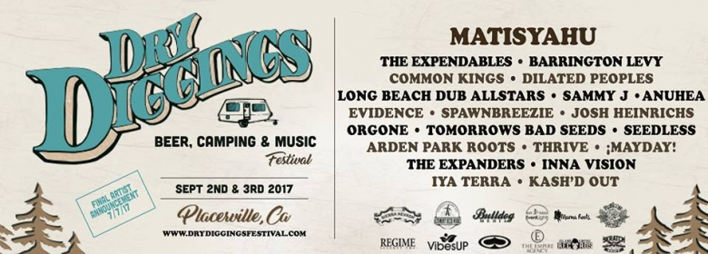 3rd Annual Dry Diggings Festival Announced