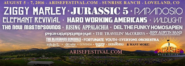 Get ready for the 2016 ARISE Music Festival