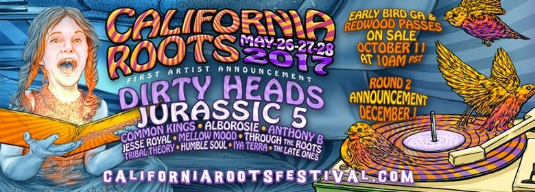 Cali Roots 2017-First artist announcement