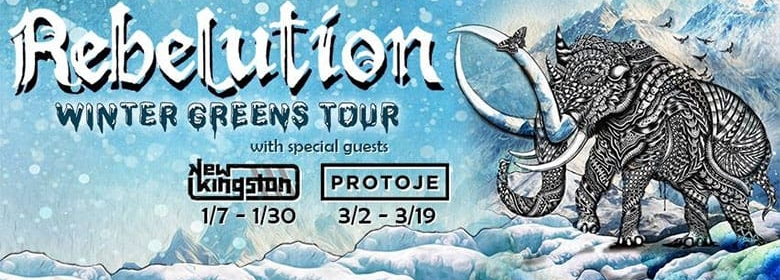 Rebelution Announces Winter Greens Tour