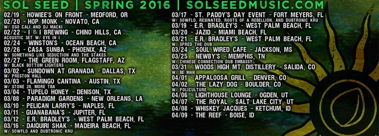 Sol Seed coming soon to a venue near you