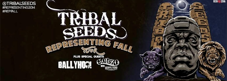 "Tribal Seeds announce ""Representing"" fall tour"