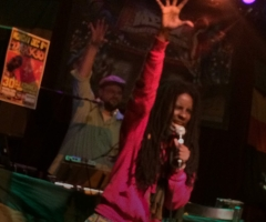 Jah9 invades Sebastopol, California