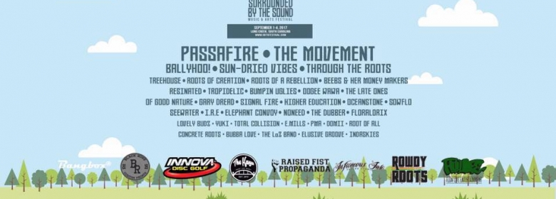 Surrounded by the Sound Music & Arts Festival announced