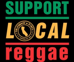 "Cali Vibes Clothing ""Support Local Reggae"""