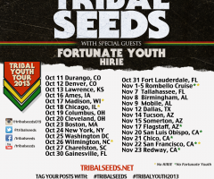 Tribal Seeds announce Fall 2013 tour dates