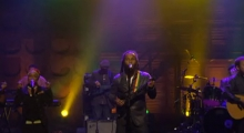 Ziggy Marley performs on Conan O'Brien