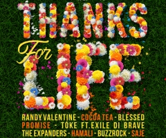 "Walshy Fire & The Expanders presents ""Give Thanks For Life"" riddim album"