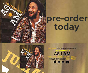 Julian Marley As I Am In-Article ad
