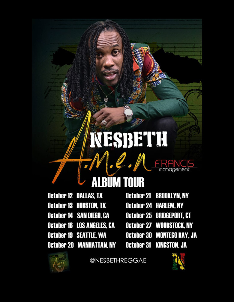 Nesbeth Tour