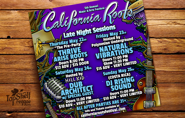 California Roots parties