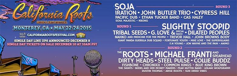 Cali Roots announces final 2015 line-up