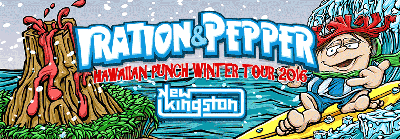 Iration and Pepper announce Hawaiian Punch Winter 2016 Tour