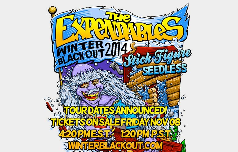 The Expendables Winter Blackout Tour 2014