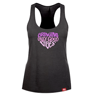 Bringing Only Good Vibes tank - Purple