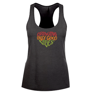 Bringing Only Good Vibes tank - Rasta