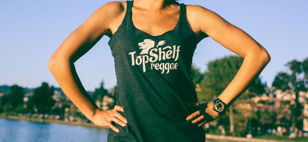 OG Grey Top Shelf Reggae Tank