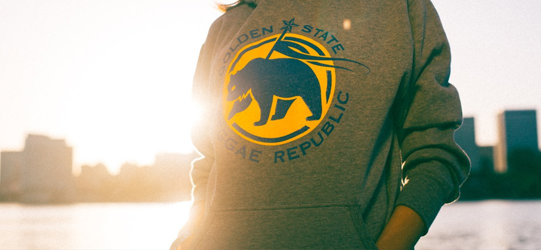 Grey Golden State Hoodie