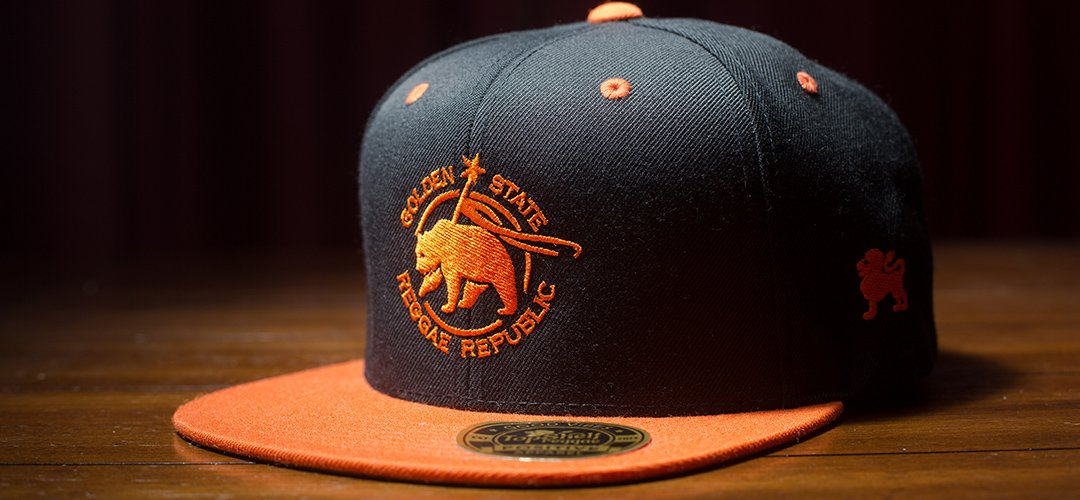 Orange & Black Golden State